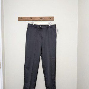 Izod Golf Pants 36x32 Black Classic Fit
